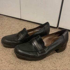 Dansko black loafers